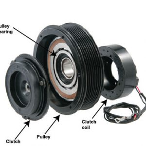 AC CLUTCH PULLEY & ASSEMBLIES