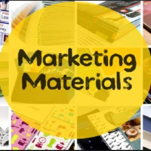 MARKETING & ADVERTISING MATERIAL