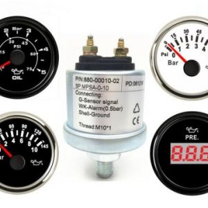 METERS & GUAGES AND SENSORS